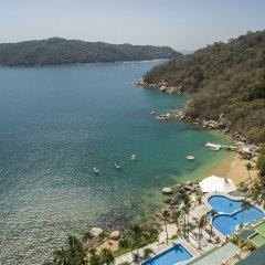 Отель Camino Real Acapulco Diamante пляж фото 2