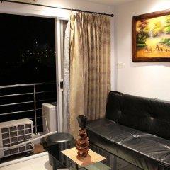 Апартаменты Wongamat Privacy By Good Luck Apartments Паттайя комната для гостей фото 2