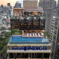 Отель Indigo Bangkok Wireless Road Бангкок балкон