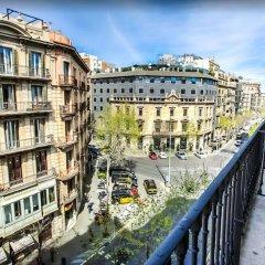 Апартаменты Cosmo Apartments Passeig de Gràcia Барселона балкон
