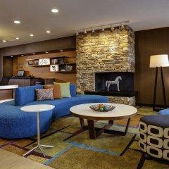 Отель Fairfield Inn & Suites by Marriott Columbus Airport США, Колумбус - отзывы, цены и фото номеров - забронировать отель Fairfield Inn & Suites by Marriott Columbus Airport онлайн комната для гостей фото 5
