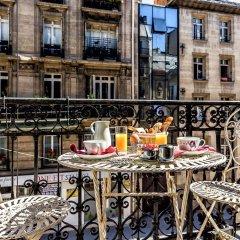 Отель Le Regence Париж балкон