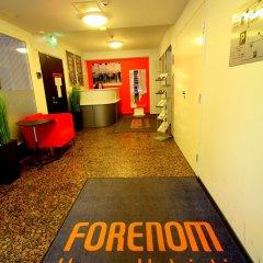 Отель Forenom Aparthotel Helsinki Herttoniemi фитнесс-зал