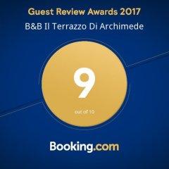 Отель B&B Il Terrazzo di Archimede Сиракуза с домашними животными