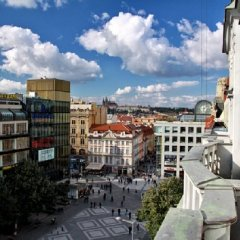 TOP Hotel Ambassador-Zlata Husa балкон фото 2