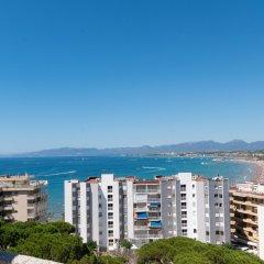 Отель Aparthotel Almonsa Platja Испания, Салоу - 6 отзывов об отеле, цены и фото номеров - забронировать отель Aparthotel Almonsa Platja онлайн пляж фото 2