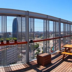 Отель Urbany Hostels Barcelona Испания, Барселона - 3 отзыва об отеле, цены и фото номеров - забронировать отель Urbany Hostels Barcelona онлайн балкон