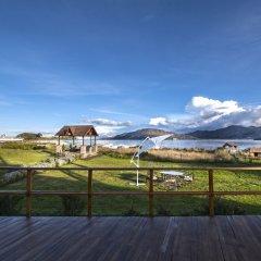 Отель Sonesta Posadas Del Inca Lago Titicaca Пуно балкон