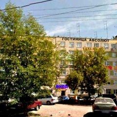 Отель Абсолют Уфа приотельная территория