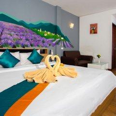Отель Sea Breeze Jomtien Residence Таиланд, Паттайя - отзывы, цены и фото номеров - забронировать отель Sea Breeze Jomtien Residence онлайн комната для гостей фото 5