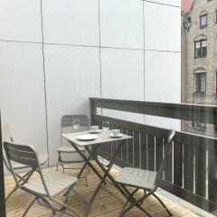 Отель Lavoo Boutique Apartments Польша, Гданьск - отзывы, цены и фото номеров - забронировать отель Lavoo Boutique Apartments онлайн балкон