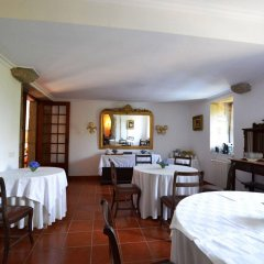 Отель Casa dos Assentos de Quintiaes питание