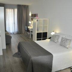 Отель Aparthotel Atenea Calabria Испания, Барселона - 12 отзывов об отеле, цены и фото номеров - забронировать отель Aparthotel Atenea Calabria онлайн комната для гостей фото 2