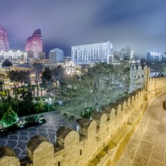 Отель Премьер Олд Гейтс Азербайджан, Баку - 3 отзыва об отеле, цены и фото номеров - забронировать отель Премьер Олд Гейтс онлайн балкон