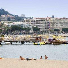 Отель Ibis Cannes Centre Франция, Канны - отзывы, цены и фото номеров - забронировать отель Ibis Cannes Centre онлайн пляж фото 2