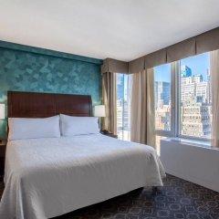 Отель Hilton Garden Inn West 35th Street США, Нью-Йорк - отзывы, цены и фото номеров - забронировать отель Hilton Garden Inn West 35th Street онлайн комната для гостей