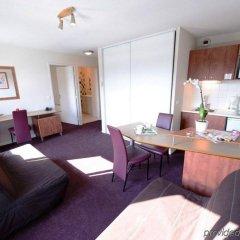 Отель Residhotel Lyon Part Dieu Франция, Лион - 2 отзыва об отеле, цены и фото номеров - забронировать отель Residhotel Lyon Part Dieu онлайн комната для гостей фото 4
