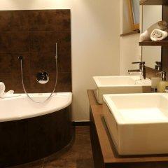Отель Feuerstein Nature Family Resort Горнолыжный курорт Ортлер ванная фото 2