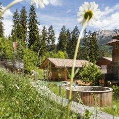 Hotel Bad Schörgau Сарентино приотельная территория фото 2
