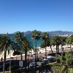 Отель JW Marriott Cannes Франция, Канны - 2 отзыва об отеле, цены и фото номеров - забронировать отель JW Marriott Cannes онлайн пляж фото 2
