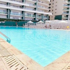 Отель Seafront LUX APT IN Fort Cambridge Мальта, Слима - отзывы, цены и фото номеров - забронировать отель Seafront LUX APT IN Fort Cambridge онлайн бассейн фото 2