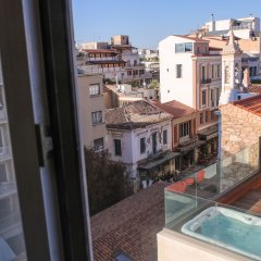 Отель Ermou Fashion Suites by Living-Space.gr Афины балкон