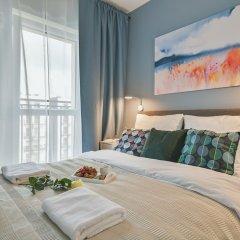 Отель P&O Apartments Wagonowa Польша, Варшава - отзывы, цены и фото номеров - забронировать отель P&O Apartments Wagonowa онлайн комната для гостей фото 3