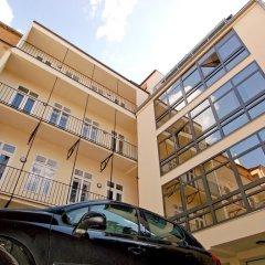 Отель Ai Quattro Angeli парковка