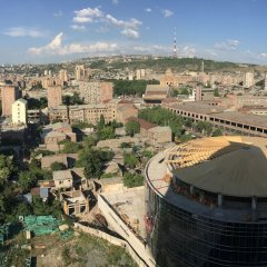 DoubleTree by Hilton Hotel Yerevan City Centre in Yerevan, Armenia from 67$, photos, reviews - zenhotels.com balcony