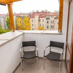 Отель ABE Прага балкон