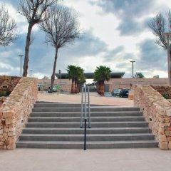 Hotel Club Sur Menorca Сан-Луис вид на фасад