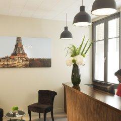 Отель Hôtel Beaurepaire (Paris - République) Франция, Париж - 1 отзыв об отеле, цены и фото номеров - забронировать отель Hôtel Beaurepaire (Paris - République) онлайн интерьер отеля