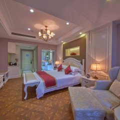 Kaiyuan Manju Select Hotel(Hongqiao Hub National Exhibition Center Sto комната для гостей фото 3