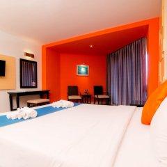 Отель Sea Breeze Jomtien Resort комната для гостей фото 10