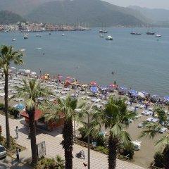 Sun Maris City Турция, Мармарис - отзывы, цены и фото номеров - забронировать отель Sun Maris City онлайн пляж