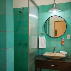 Отель Jacarandas-habitación Para 3 Personas en Mazatlán Масатлан ванная фото 2