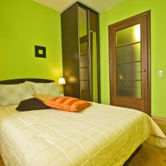 Апартаменты Lakshmi Apartment Belorusskaya комната для гостей фото 5