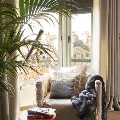 Отель Godó Luxury Apartment Passeig de Gracia Испания, Барселона - отзывы, цены и фото номеров - забронировать отель Godó Luxury Apartment Passeig de Gracia онлайн комната для гостей фото 5