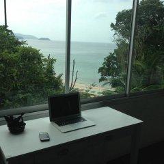 Отель Karon Cliff Bungalows Таиланд, Пхукет - 4 отзыва об отеле, цены и фото номеров - забронировать отель Karon Cliff Bungalows онлайн комната для гостей фото 2