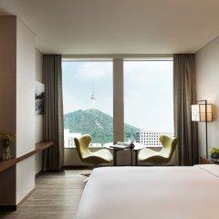 Отель Courtyard by Marriott Seoul Namdaemun Южная Корея, Сеул - отзывы, цены и фото номеров - забронировать отель Courtyard by Marriott Seoul Namdaemun онлайн комната для гостей фото 2