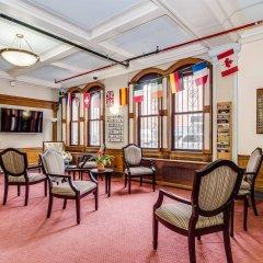Отель Leo House США, Нью-Йорк - отзывы, цены и фото номеров - забронировать отель Leo House онлайн интерьер отеля фото 2