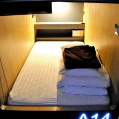Отель My Bed Ratchada Бангкок сейф в номере