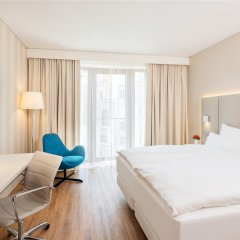 Отель NH Leipzig Zentrum Германия, Лейпциг - отзывы, цены и фото номеров - забронировать отель NH Leipzig Zentrum онлайн комната для гостей фото 4