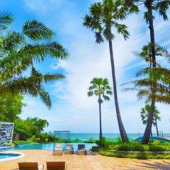 Отель The Palm Wongamat Beach Pattaya Паттайя пляж