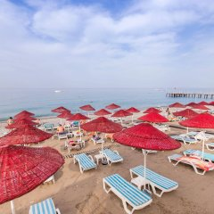 Holiday Garden Hotel Alanya Турция, Окурджалар - отзывы, цены и фото номеров - забронировать отель Holiday Garden Hotel Alanya онлайн пляж