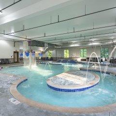 Holiday Inn Express Hotel & Suites Columbus - Polaris Parkway Колумбус бассейн фото 3