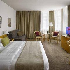 Отель K+K Hotel Fenix Чехия, Прага - 4 отзыва об отеле, цены и фото номеров - забронировать отель K+K Hotel Fenix онлайн комната для гостей фото 5