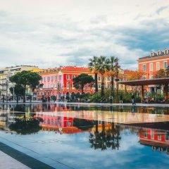 Отель Apart Hotel Riviera - Grimaldi - Promenade des Anglais Франция, Ницца - отзывы, цены и фото номеров - забронировать отель Apart Hotel Riviera - Grimaldi - Promenade des Anglais онлайн приотельная территория фото 2