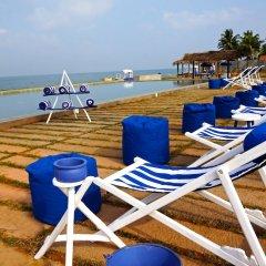 Отель Jetwing Lagoon пляж фото 2