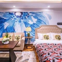 Отель Private Enjoyed Home JinYuan Apartment Китай, Гуанчжоу - отзывы, цены и фото номеров - забронировать отель Private Enjoyed Home JinYuan Apartment онлайн комната для гостей фото 2